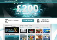 Dazzle Casino screenshot 2