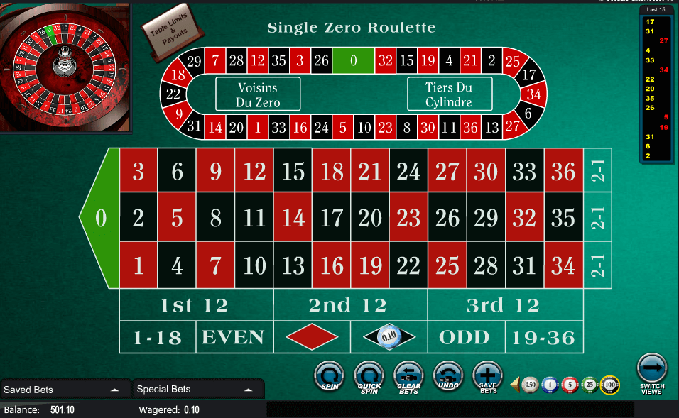 Las vegas roulette table minimums