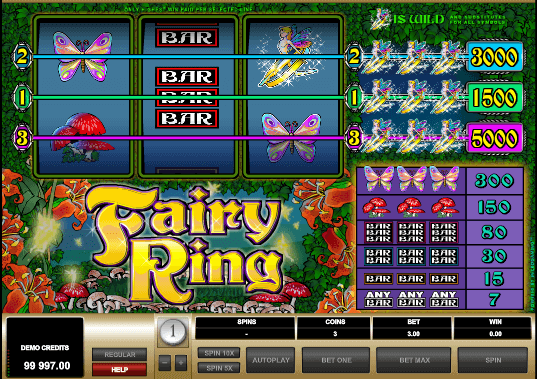 Fairy Ring™ Slot Machine Game to Play Free in Microgamings Online Casinos