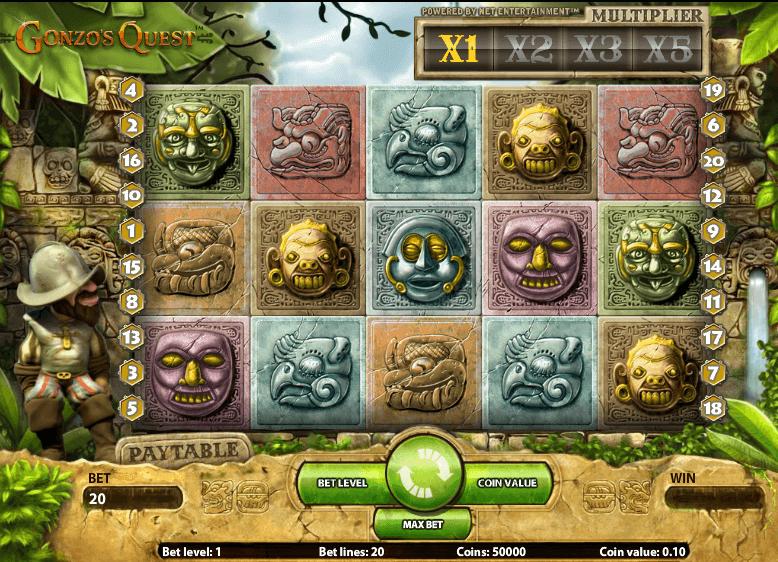 Gonzo's Quest screenshot 2