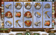 hall of gods slot screenshot 1