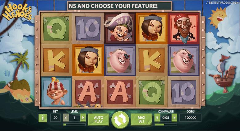 Hook's Heroes screenshot 1