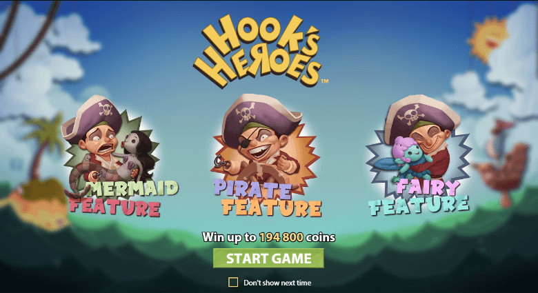 Hooks Heroes™ Slot Machine Game to Play Free in NetEnts Online Casinos