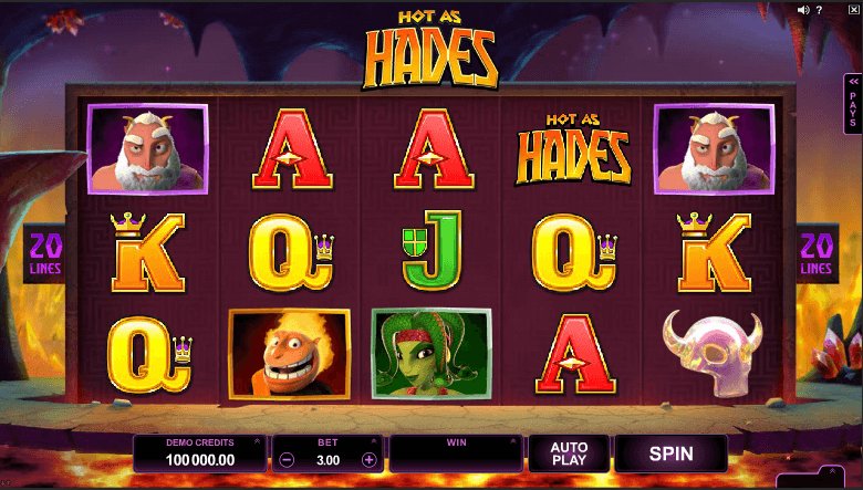 Hot as Hades screenshot 1