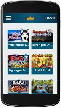 Intercasino Mobile Casino screenshot 1
