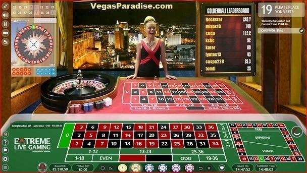Live Dealer Roulette Game