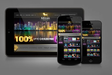 Vegas Paradise Mobile Casino screenshot 2