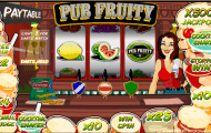 pub fruity slot screenshot 1