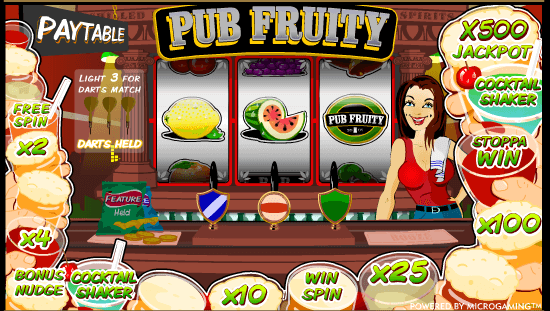 play pub fruit machines online free