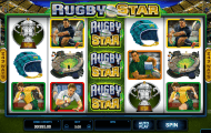 rugby star slot screenshot