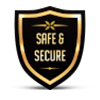 Safe & Secure Gaming Sign