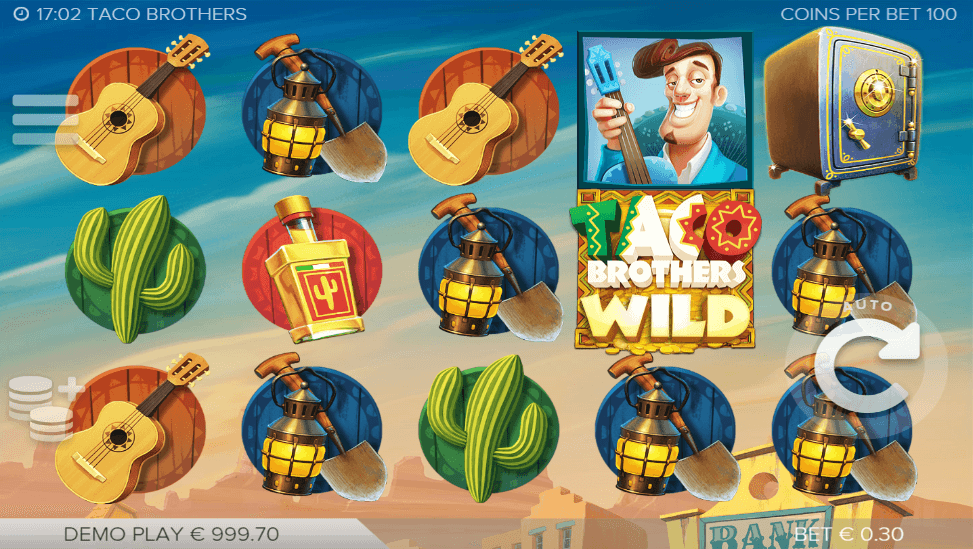 Taco Brothers™ Slot Machine Game to Play Free in ELK Studioss Online Casinos