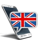 United Kingdom mobile icon
