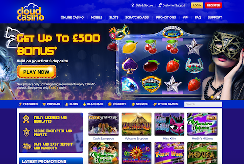 Cloud Casino screenshot 1