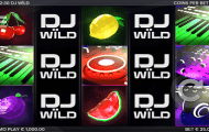 dj wild pokie screen 1