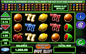 Hot Slot screenshot 1