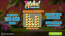 Aloha Cluster Pays screenshot 1