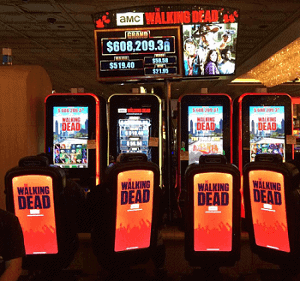 walking dead slot machine review