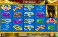 Treasures Of The Pyramids Slot Screen small