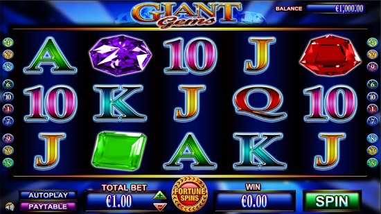 Giant Gems Slot Screenshot Big