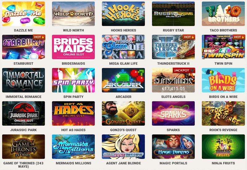 Insta Casino screenshot 1