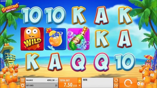 Play The New Spinions Beach Party Slot from Quickspin