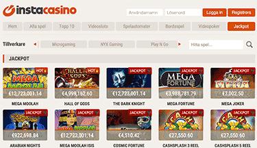 Insta Casino screenshot 2