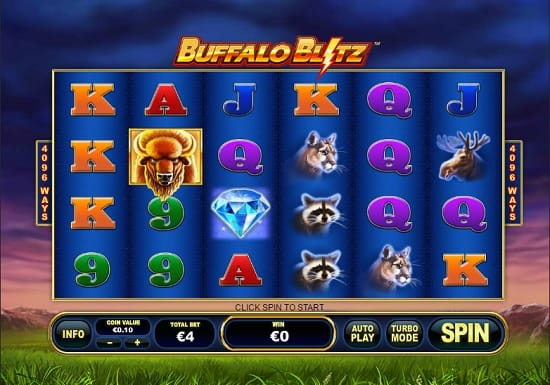 buffalo blitz slot screenshot big
