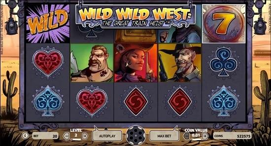 wild wild west slot screenshot big