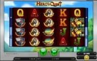 Hero's Quest slot screenshot small