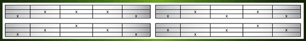 Example of Video Slot Multiple Paylines