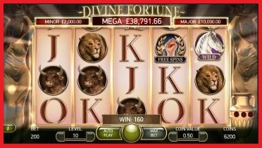 Divine Fortune Online Slot Machine