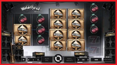 Motorhead Slot Machine Win