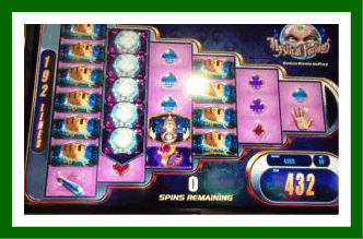 Mystical Fortunes Slot Machine Screenshot