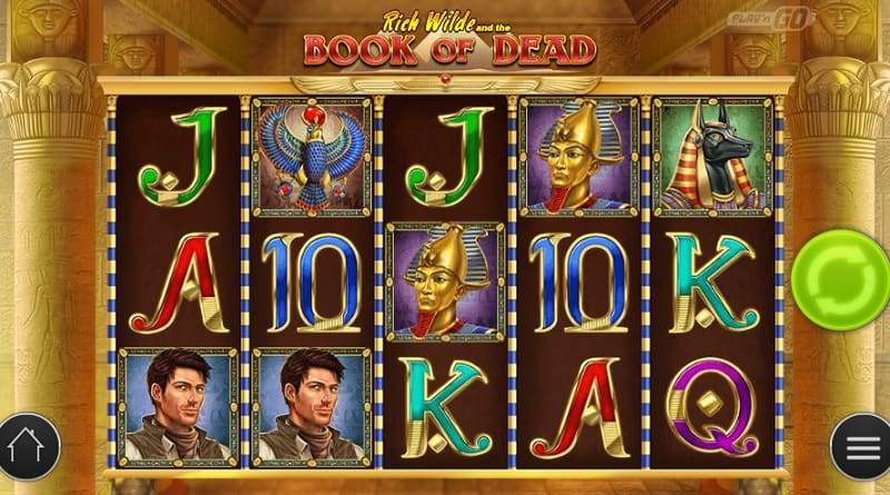 Book of dead casino free