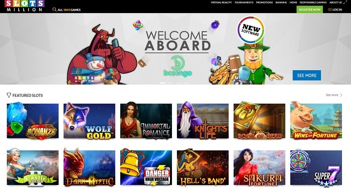 slots millions casino screenshot