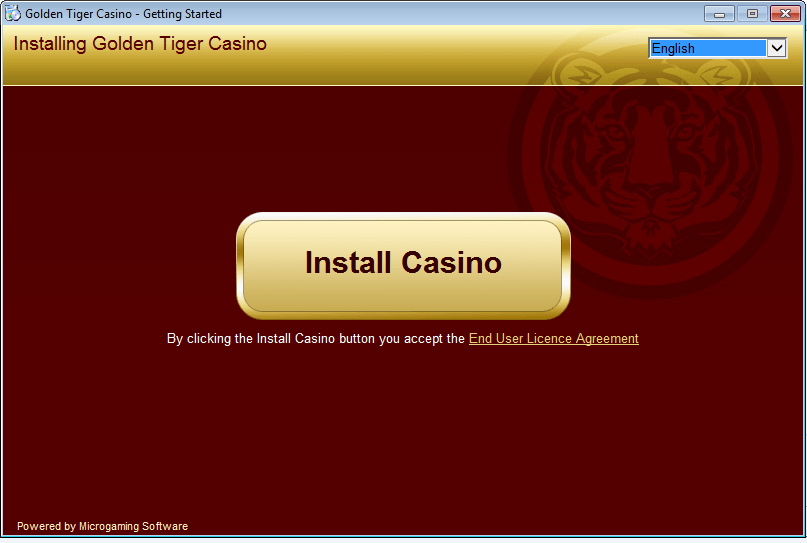 Install the online casino example