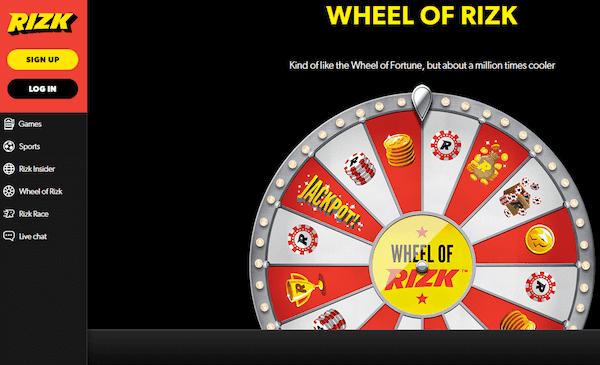 Rizk Casino screenshot 1