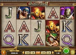 Game of Gladiators Online Slot Machine - Free Play & Review 4