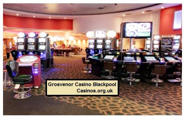 Grosvenor Casino Blackpool casino floor