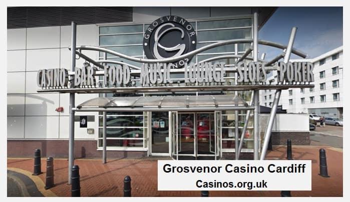Grosvenor Casino Cardiff Outside View