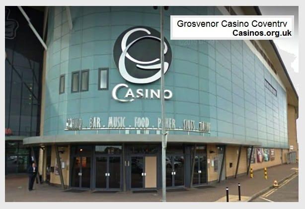 Grosvenor Casino Coventry Outdoor View
