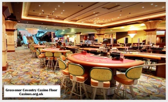Grosvenor Coventry Casino Floor