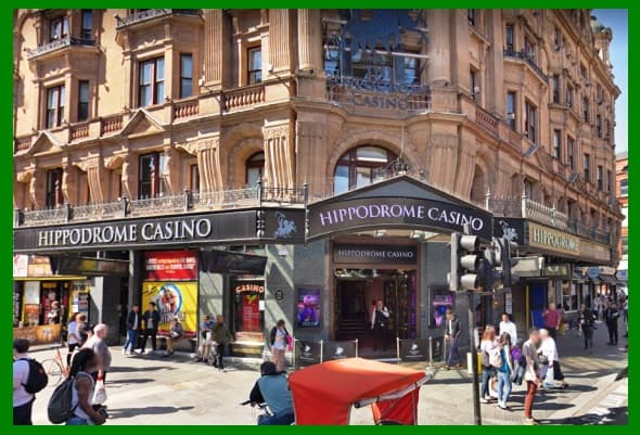 Hippodrome Casino Outside Look