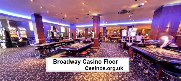 Broadway Casino Gaming Floor View