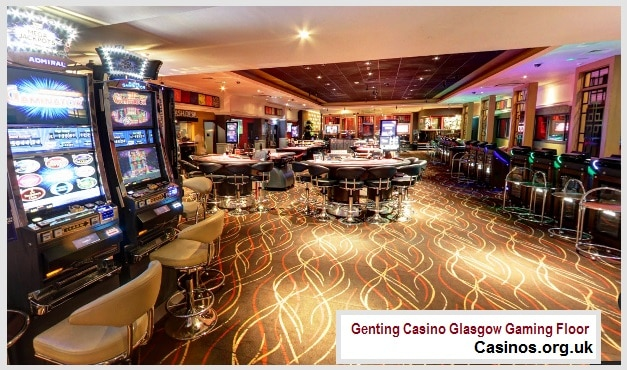 Genting Casino Glasgow Gaming Floor