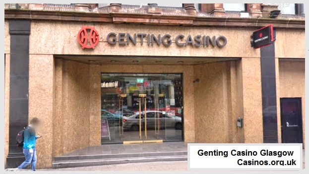 Genting Casino Glasgow Outdoor view