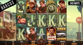 Narcos Online Slot Machine - Free Play & Review 154