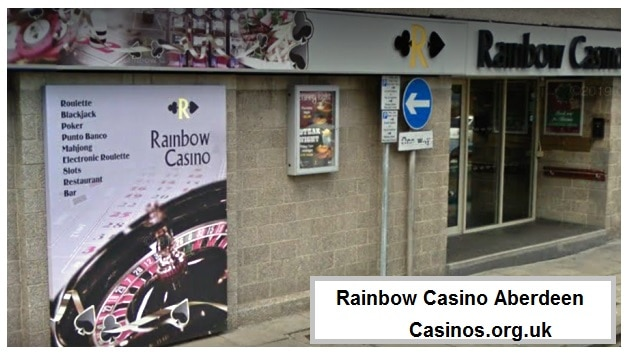 Rainbow Casino Aberdeen Outside View