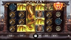 Conan Online Slot Machine - Free Play & Review 146
